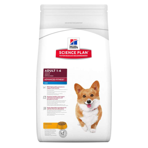 Hills Science Plan Canine Adult Advanced Fitness Mini Chicken