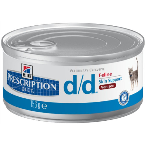 Hills Prescription Diet Feline DD Canned Venison