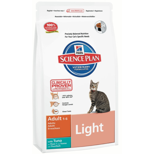 Hills Science Plan Feline Adult Light Tuna
