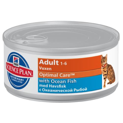 Hills Science Plan Feline Adult Ocean Fish Canned 85g x 72