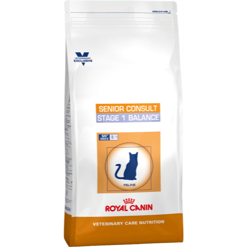 Royal Canin VCN Senior Consult Stage 1 Balance Cat Food