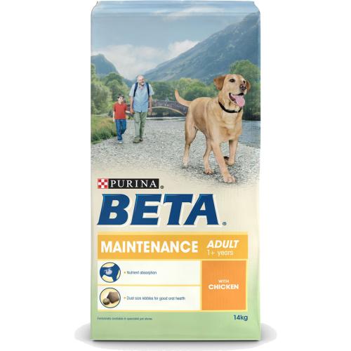 BETA Chicken Maintenance Adult Dog Food 14kg