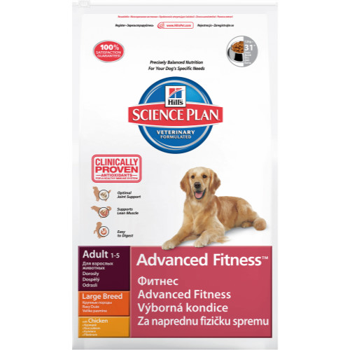 Hills Science Plan Canine Adult Advanced Fitness Large Chicken