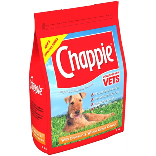Chappie Dry Chicken & Wholegrain Cereal Adult Dog Food