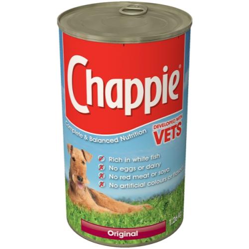 Chappie Can Original Adult Dog Food 1.26kg x 12