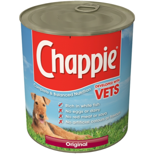 Chappie Can Original Adult Dog Food 825g x 12