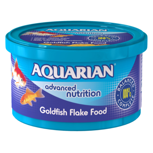 Aquarian Goldfish Flakes Fish Food 25g