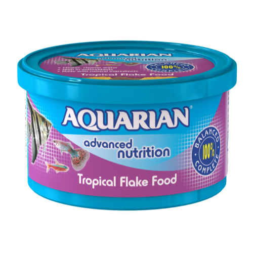 Aquarian Tropical Flakes Fish Food 25g