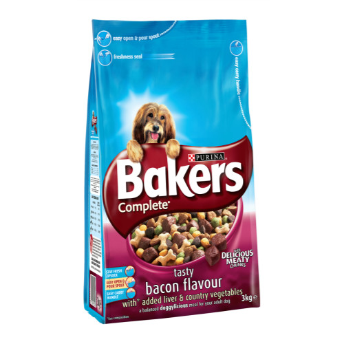 Bakers Complete Bacon & Liver Adult Dog Food
