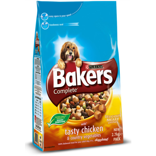Bakers Complete Chicken & Vegetable Adult Dog Food
