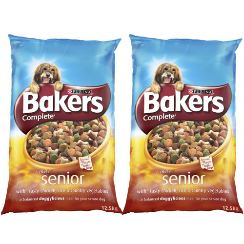 Bakers Complete Chicken & Rice Senior Dog Food