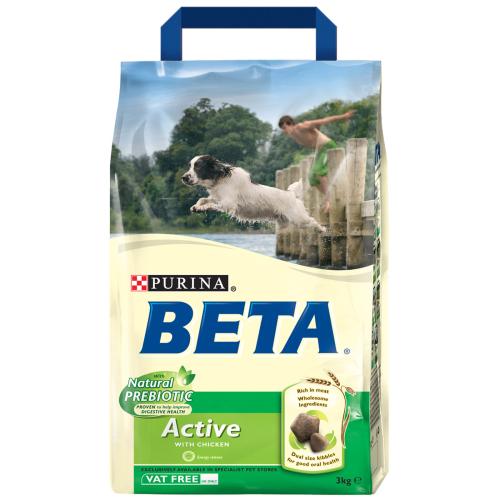 BETA Chicken Active Adult Dog Food 2.5kg