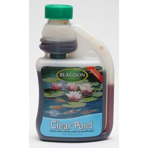Clear Pond Water Treatment