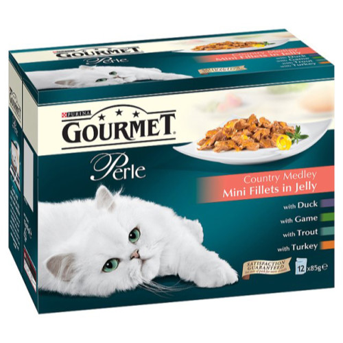 Gourmet Perle Country Styles in Jelly Adult Cat Food