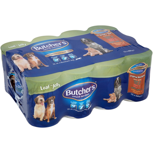 Butchers Original Recipes Tripe in Jelly Dog Food 400g x 24