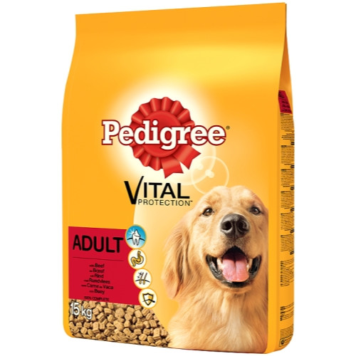 Pedigree Vital Protection Beef Adult Dog Food