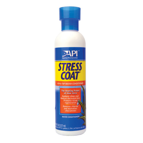 API Stress Coat & Aquarium Fish Tank Tap Water Treatment 237ml