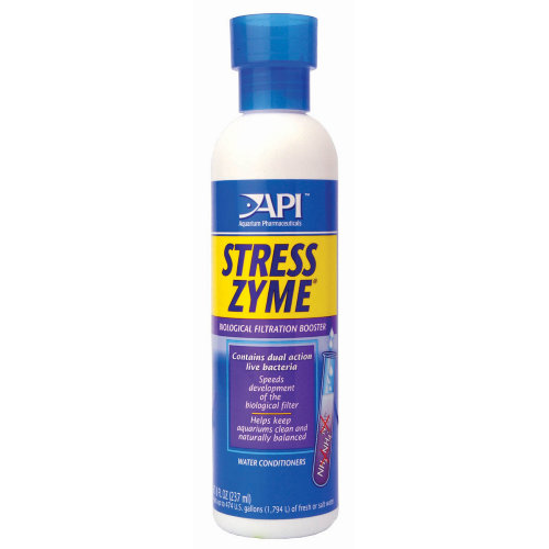 API Stress Zyme Fish Water Treatment 237ml