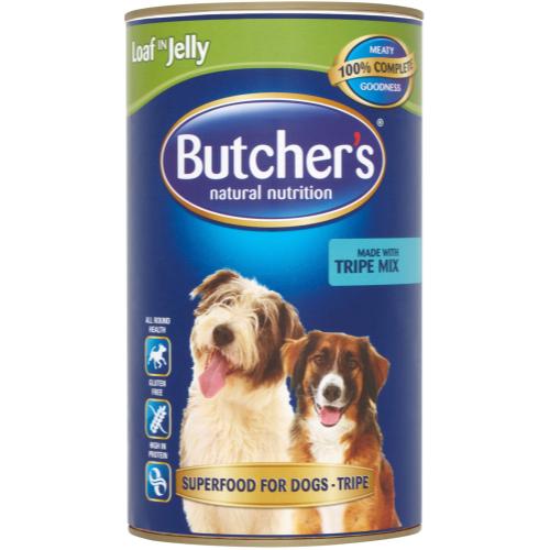 Butchers Fresh Tripe Mix in Jelly 1.2kg x 6
