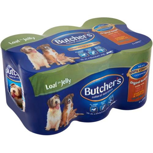 Butchers Butchers Original Recipes with Tripe  Dog Food 400g x 24