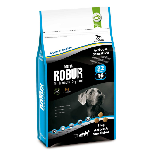 Bozita Robur Active and Sensitive Dog Food 5kg