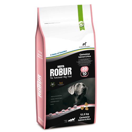 Bozita Robur Salmon & Rice Dog Food 12.5kg