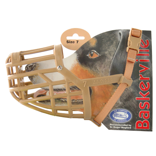 Baskerville Dog Muzzle Size 7 Springer