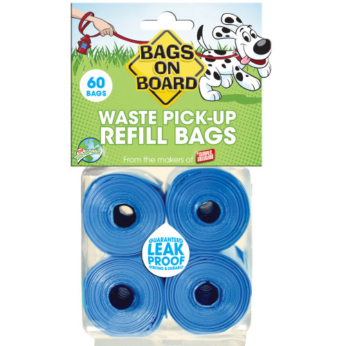 Bags On Board Refill Blue 60 Bags