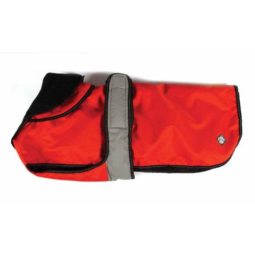 """Danish Design 2 In 1 Dog Rain Coat Orange 56cm / 22"""""""