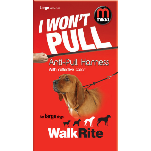 Mikki Walkrite Anti Pull Harness