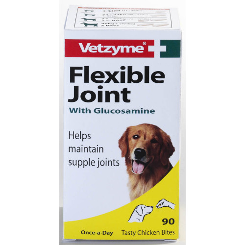 Bob Martin Vetzyme Flexible Joint With Glucosamine Tablets