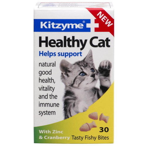 Bob Martin Kitzyme Healthy Cat Cranberry & Zinc