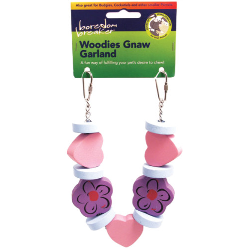 Rosewood Boredom Breaker Woodies Garland