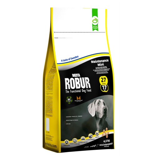 Bozita Robur Maintenance Mini Dog Food 4.5kg