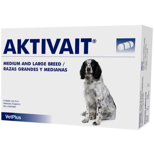 Aktivait Capsules for Dogs Medium & Large Breed x 60