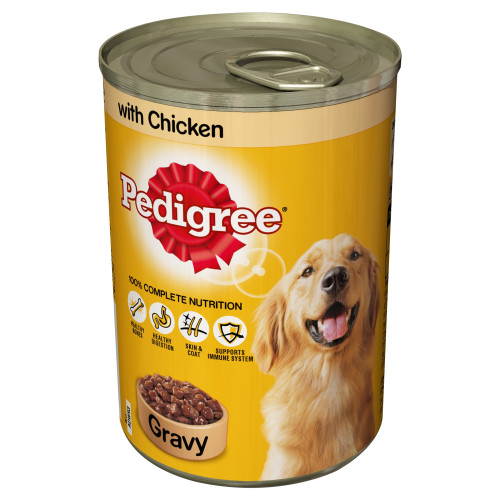 Pedigree Can Chicken in Gravy Adult Dog Food