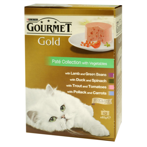 Gourmet Gold Pate Collection Cat Food