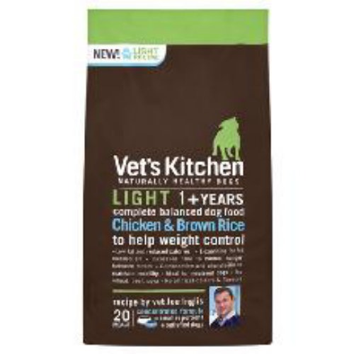 Vets Kitchen Light Dog Chicken & Brown Rice