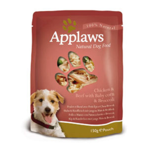 Applaws Chicken & Beef Wet Pouch Adult Dog Food