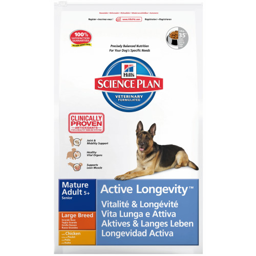Hills Science Plan Canine Mature Adult5+ Active Longevity Large