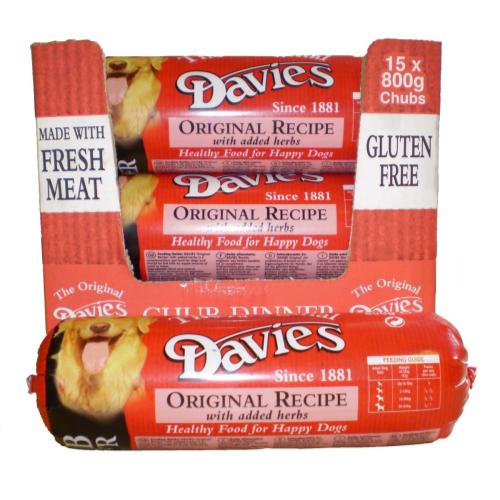 Davies Original Chub 15 x 800g