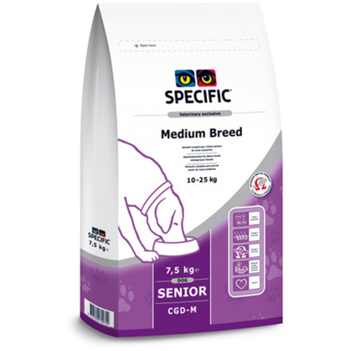 Specific CGD-M Senior Canine Medium Breed Dog Food