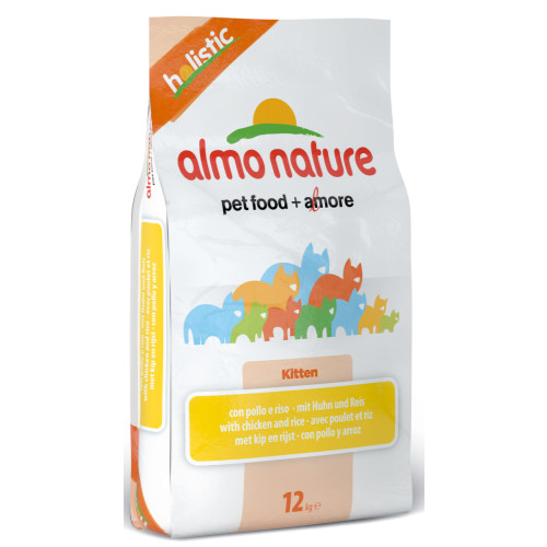 Almo Nature Holistic Chicken & Rice Kitten Food