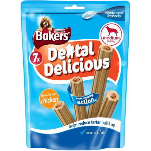 Bakers Dental Delicious Chicken Dog Treats