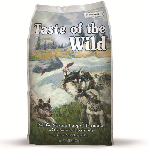 Taste Of The Wild Pacific Stream Smoked Salmon Puppy Food