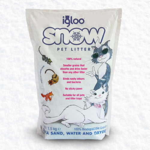Igloo Snow Cat Litter