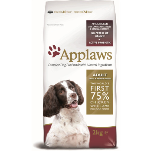 Applaws Chicken & Lamb Small Medium Breed Dry Adult Dog Food