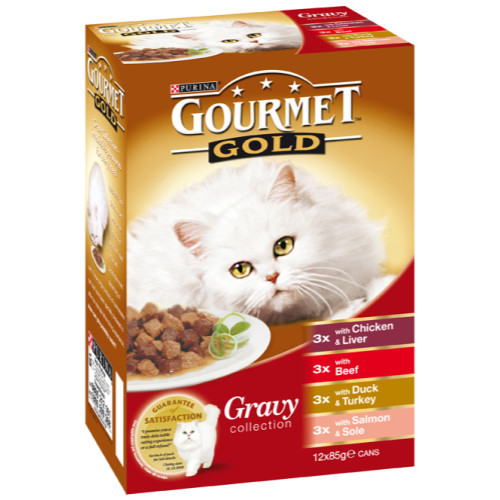 Gourmet Gold Gravy Collection Cat Food