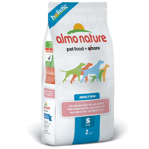 Almo Nature Holistic Salmon & Rice Small Dog Food