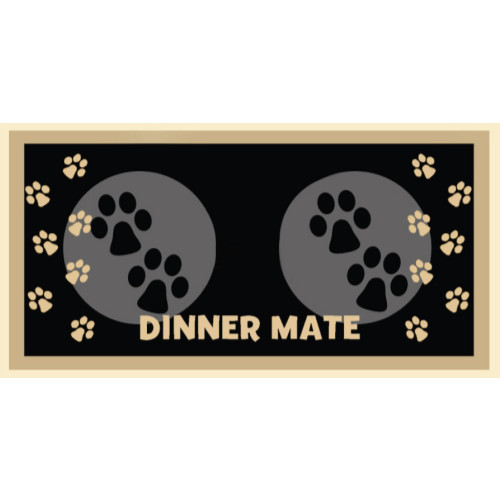 Pet Rebellion Dinner Mate Dog & Cat Mats